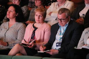 Members of the audience at the health summit