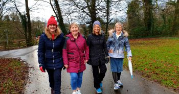 Carers walking group in Omagh