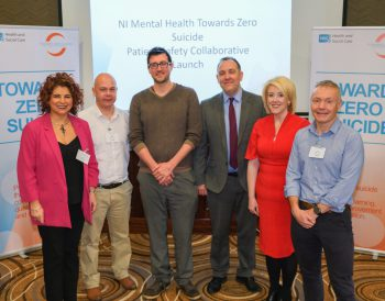 Delegates at launch of Towards Zero Suicide Patient Safety Collaborative
