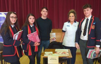 Year 13 Students at Third Annual Fermanagh Learning Community Careers Convention