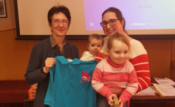 Ann McCrea, Lactation Consultant with Breastfeeding Peer Support mum and children