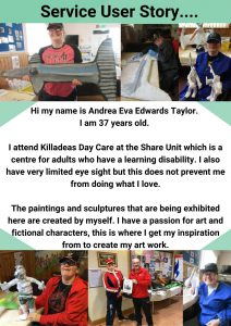 Service User Andrea's profile