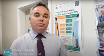 Dr Stephen Todd, Consultant Geriatrician and Clinical Lead for Acute Care at Home