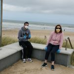 Service Users visiting the beach