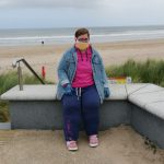 Service User visiting the beach