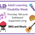 Graphic to promote the BBQ Event at Stableyard