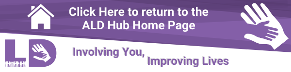 Return to Adult Learning Disabilities Hub Home Page