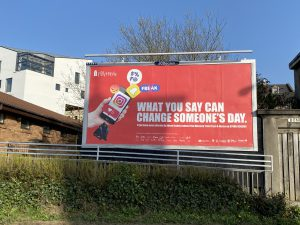 Billboard - What you say can change someone's day